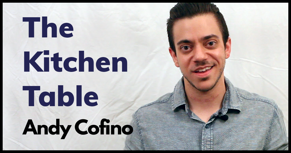 The Kitchen Table, Andy Cofino (Spoken Word Poem)